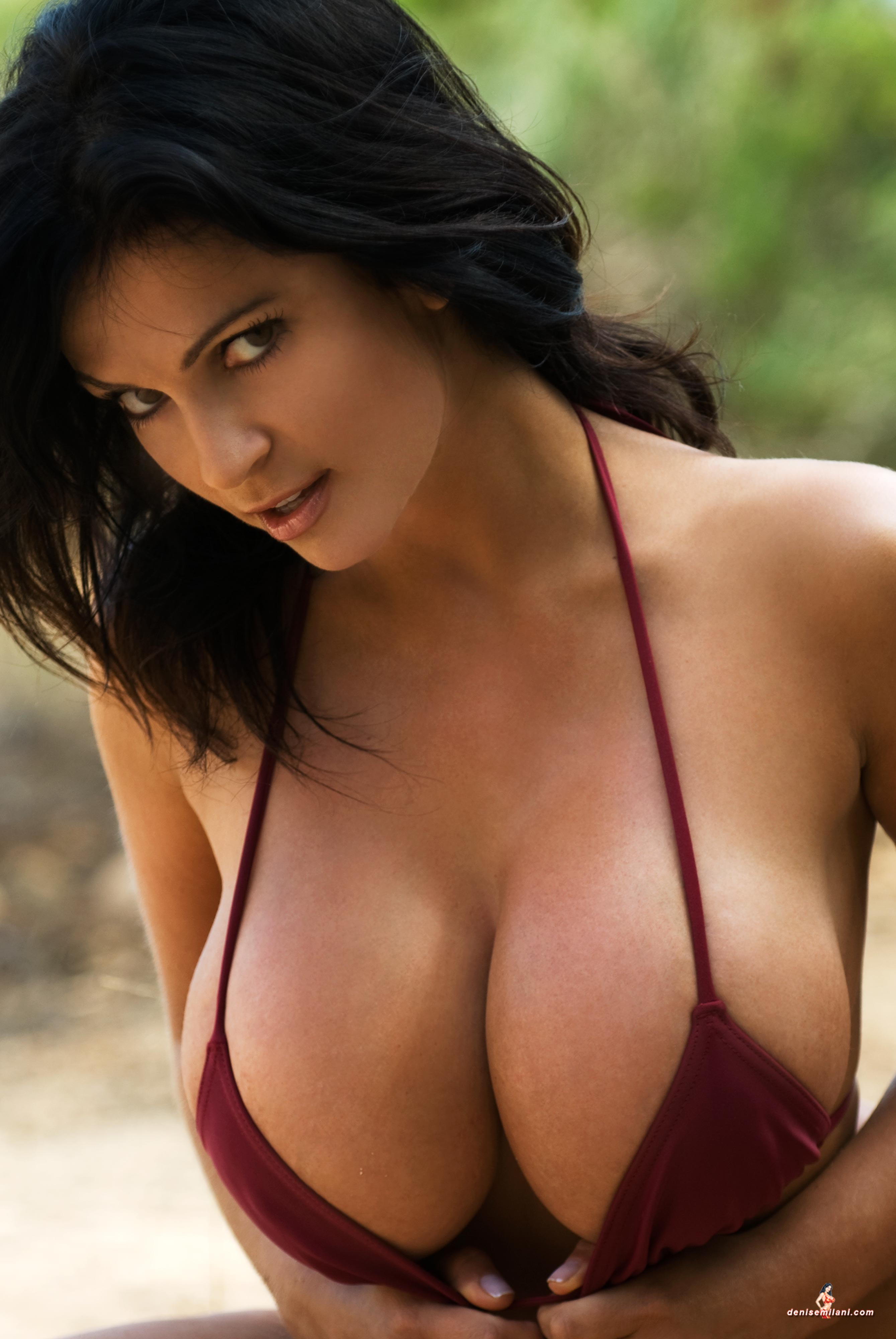 Denise Milani Topless Pictures 98